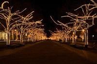 Подключение освещения зданий в Северске